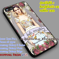 I Hate Everything | Marina and The Diamonds | Quote iPhone 6s 6 6s+ 6plus Cases Samsung Galaxy s5 s6 Edge+ NOTE 5 4 3 #music #mtd dl2
