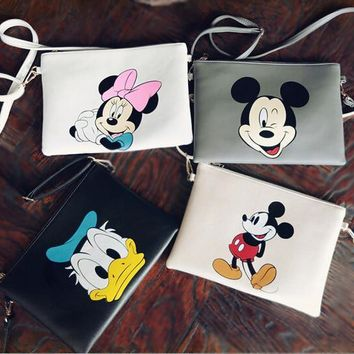 Cartoon Leather Sling Bag