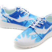 n024 - Nike Roshe Run (Sky Blue/White)