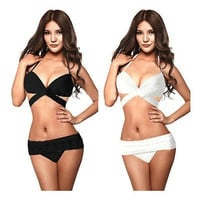 Sexy Women's Bikini Swimsuit Bathing Suit Padded Push-up Padded Bra Swimwear = 1956905156