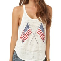 O´Neill Old Glory Camisole Tank Top | Dillards