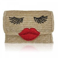 Kissy Face Basket Clutch | Felix Rey