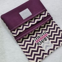 NEW! Eggplant Purple Chevron Wallets for Women, Small Wallets, Purple Wallets, Chevron Wallet, Change Purse, Card Wallet