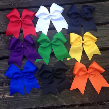 Cheer Bows - made in the USA