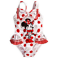 Minnie Mouse Deluxe Swimsuit for Girls