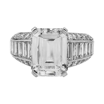 Best One Carat Emerald Cut Diamond Ring Products on Wanelo b0904a7f24