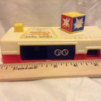 "Vintage 1974 Fisher Price Toy No. 464 *POCKET CAMERA* Kids Retro Toy ""Polaroid"""