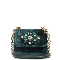 Miss Charles velvet bag | Dolce & Gabbana | MATCHESFASHION.COM