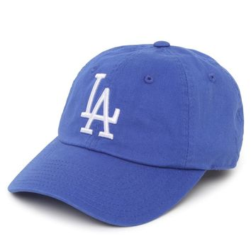 American Needle LA Dodgers Baseball Hat - Womens Hat - Blue - One