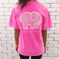 LIENZY NEW ARRIVAL  Womens Ivory Ella T Shirts  English Alphabet Cartoon  Elephant Printing Tops Slim Crop Top HOT SALE