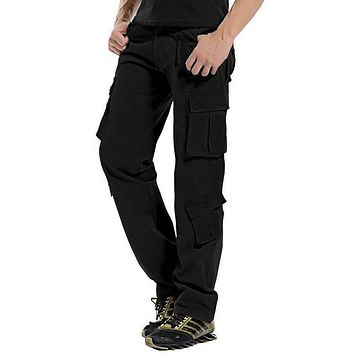 Hot Spring Autumn Cargo Pants Men Casual Mens Tactical Pants Pantalon Homme