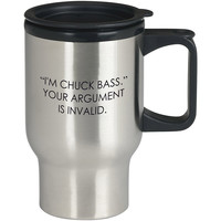I m Chuck Bass Your Argument is Invalid Gossip Girl For Stainless Travel Mug *