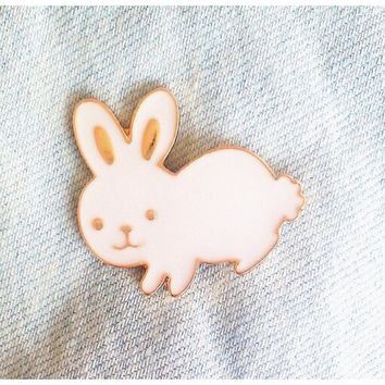 2016 Fashion Small Enamel Metal Rabbit Carrot Brooch Pin Cute Metal Brooch Pins Lapel Pin Brooch Mini Button Brooches