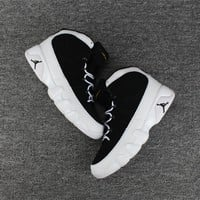 Nike Air Jordan 9 Black White Basketball Shoes Sport Sneaker