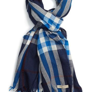 burberry scarf outlet 42k6  burberry scarf blue