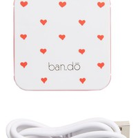 ban.do 'Back Me Up' iPhone 5 Charger - Pink