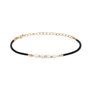 Modern Muse Choker in Pearl and Gold