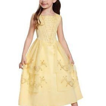 Girls Belle Ball Gown Classic Costume