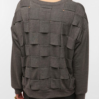 Urban Outfitters - Family Woven Back Sweatshirt