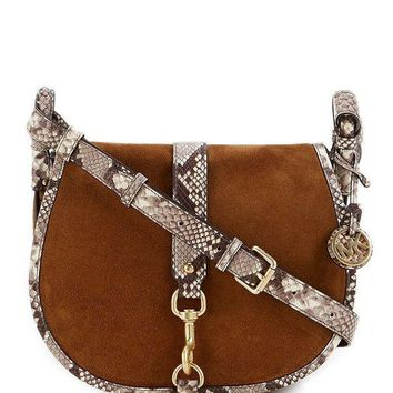 Michael Michael Kors Jamie Large Saddle Bag