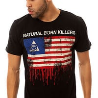 The Natural Born Killers Tee in Black