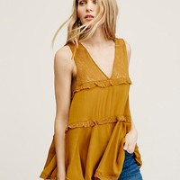 Free People Girly Girl Cami