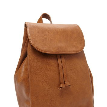 Faux Leather Backpack | Forever 21 - 1000176645