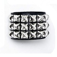 Pyramid Stud Bracelet :: VampireFreaks Store :: Gothic Clothing, Cyber-goth, punk, metal, alternative, rave, freak fashions