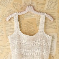 Free People Vintage Open Crochet Tank