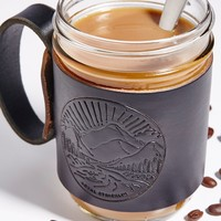 Free People Leather Aviator Coffee Mug