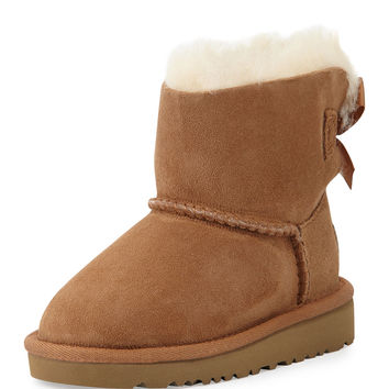 Mini Bailey Bow-Back Boot, Chestnut, Toddler - UGG Australia
