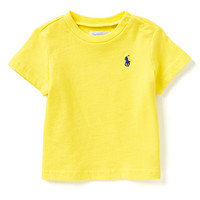 Ralph Lauren Childrenswear 3-24 Months Crewneck Tee | Dillards