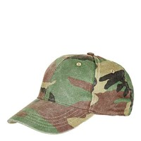 Structured Camo Cap - Hats - Bags & Accessories