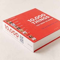 10,000 Things You Need To Know: The Big Book Of Lists By Elspeth Beidas - Urban Outfitters
