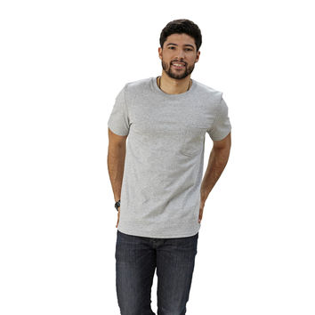 Adult Short Sleeve  Crew Neck w/Pocket Slim Fit