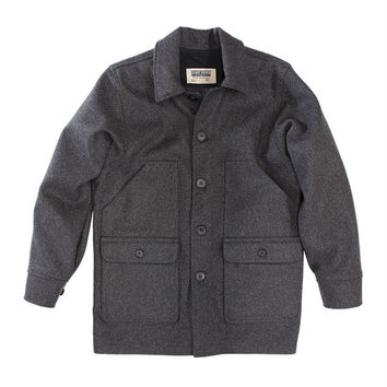 Stormy Kromer Wool Mackinaw Coat