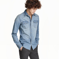 H&M Denim Shirt $19.99