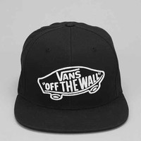 Vans Home Team Snapback Hat - Black & White One