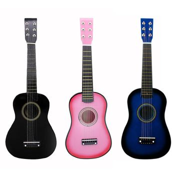 IRIN Mini 23 Inch Basswood Acoustic 12 Frets 6 Strings Guitar with Pick and Strings for Children / Beginners