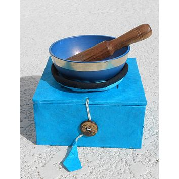 Chakra Singing Bowl 'Throat'
