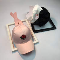 Summer Flower Rose Hats Cap [11686938959]
