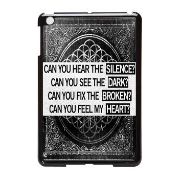Bring Me To The Horizon Can You Feel My Heart Bmth iPad Mini Case