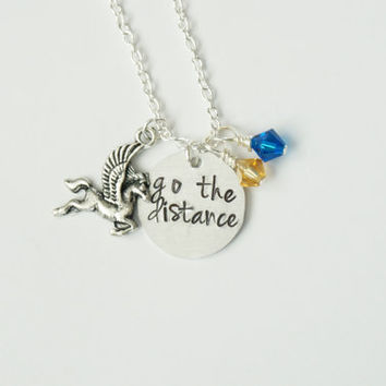 Disney's Hercules Inspired Necklace. Go the Distance.