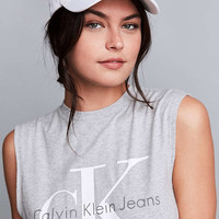 Calvin Klein Canvas Baseball Hat - Urban Outfitters