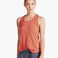 Lucky Brand Multi Dot Tank Womens - Grenadine