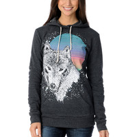 Glamour Kills Wolf Blitzer Charcoal Pullover Hoodie at Zumiez : PDP