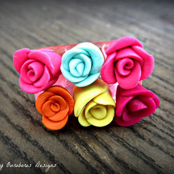 Rose Garden Ring - W.I.L. by Ouroboros Designs