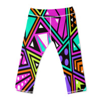 Funky Colored Yoga Pants