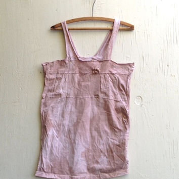 Shabby tee shirt, rose tee, eco, hand dyed clothes, rustic fashion, women, original, patched, rustic tee shirt