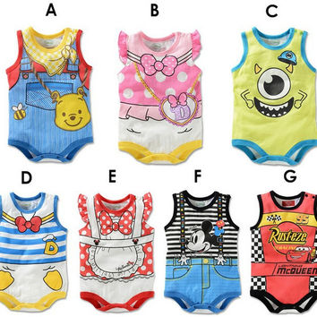 Baby Costume Cartoons Vest One-piece [4920605188]